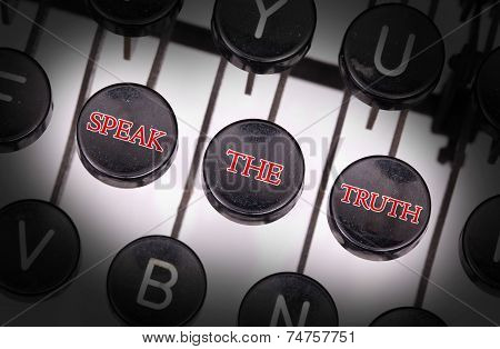 Typewriter With Special Buttons