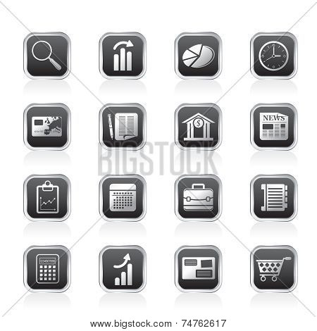 Business and Office Internet Icons