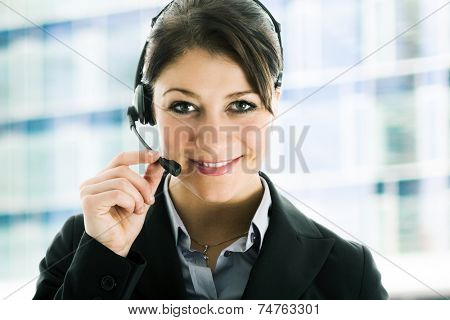 Portrait of a customer representative