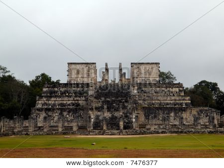The Temple, Where Human Sacrifices In Chichen- Itza