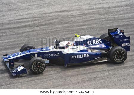 Nico Hulkenberg of Williams-Cosworth F1 Racing Team