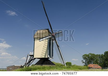 Mill At Batenburg