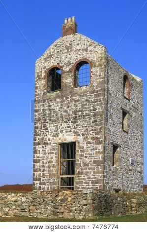 Disused Tin Mine On Bodmin Moor