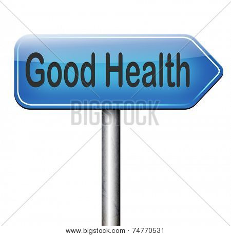 good health, healthy active lifestyle and bio food
