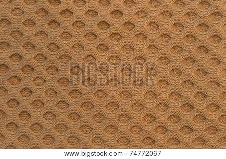 Beige Woven Circle Texture