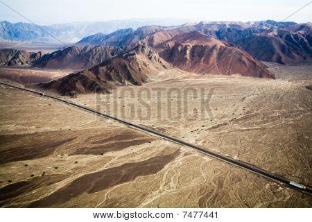 Pan-americana near Nazca, Peru