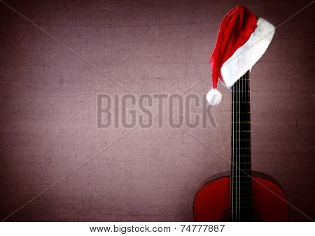 New Year Christmas Guitar