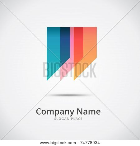 Abstract W Letter Logo