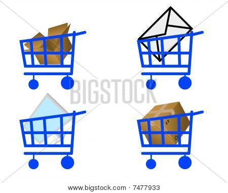 Handcart And Commodity