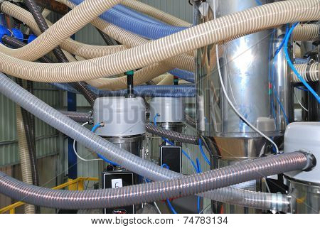 Part Of Industry Mechanism (polyethylene Pipes)