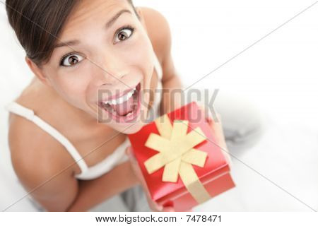 Happy Gift Woman