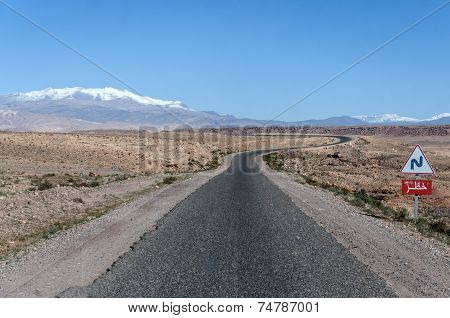 Road in Morocco