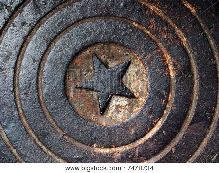 Grunge Sewer Manhole