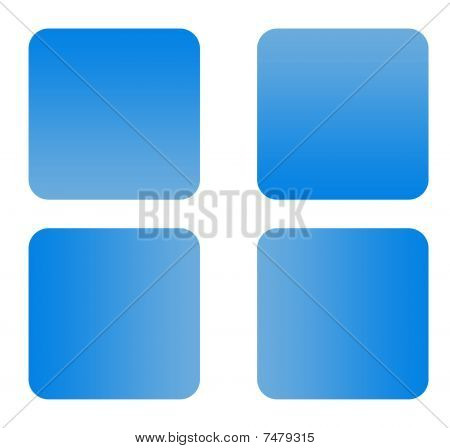 Blue Gradient Buttons