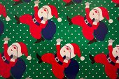 Santa Claus Background poster