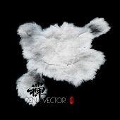 image of wesak day  - Vector Abstract Zen Background - JPG