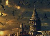 image of medieval  - ISTANBUL TURKEY  - JPG
