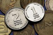 picture of shekel  - Coins of Israel - JPG