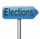 pic of election  - elections to get new government or president free election for new democracy local national voting poll - JPG