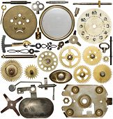 stock photo of spare  - Clockwork spare parts - JPG