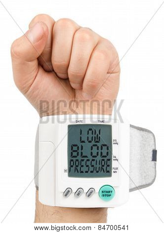 Digital Low blood pressure monitor