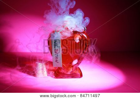 A Genuine LOVE Potion brewed up by a Gypsy, Sorceress, Fortune Teller, Witch, Match Maker, Vixen, or someone who has studied White Magic or the Dark Arts. Love Potions are used around the world.