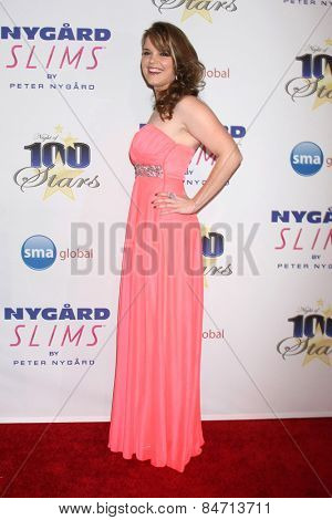 LOS ANGELES - FEB 22:  Kimberly J. Brown at the Night of 100 Stars Oscar Viewing Party at the Beverly Hilton Hotel on February 22, 2015 in Beverly Hills, CA