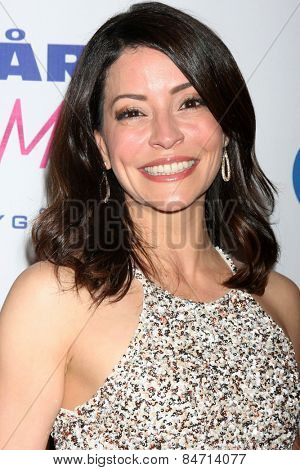 LOS ANGELES - FEB 22:  Emmanuelle Vaugier at the Night of 100 Stars Oscar Viewing Party at the Beverly Hilton Hotel on February 22, 2015 in Beverly Hills, CA