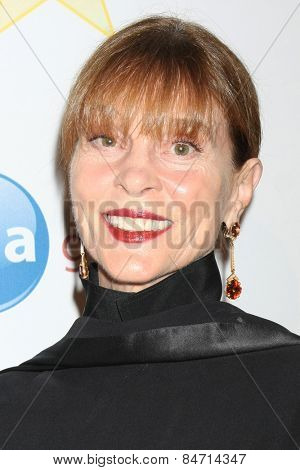 LOS ANGELES - FEB 22:  Leigh Taylor Young at the Night of 100 Stars Oscar Viewing Party at the Beverly Hilton Hotel on February 22, 2015 in Beverly Hills, CA