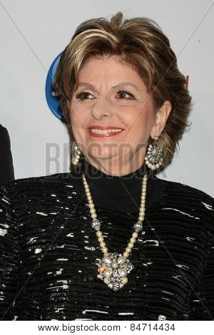 LOS ANGELES - FEB 22:  Gloria Allred at the Night of 100 Stars Oscar Viewing Party at the Beverly Hilton Hotel on February 22, 2015 in Beverly Hills, CA