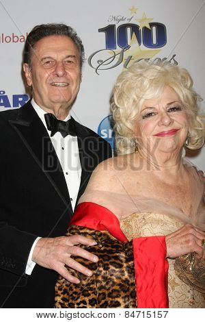 LOS ANGELES - FEB 22:  Joe Bologna, Renee Taylor at the Night of 100 Stars Oscar Viewing Party at the Beverly Hilton Hotel on February 22, 2015 in Beverly Hills, CA