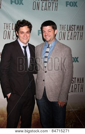 LOS ANGELES - FEB 24:  Phil Lord, Chris Miller at the