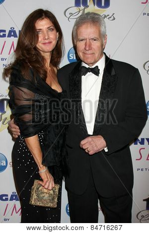 LOS ANGELES - FEB 22:  Alex Trebek at the Night of 100 Stars Oscar Viewing Party at the Beverly Hilton Hotel on February 22, 2015 in Beverly Hills, CA