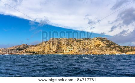 View Of Frioul Archipelago In Mediterranean Sea Near Marseille, France