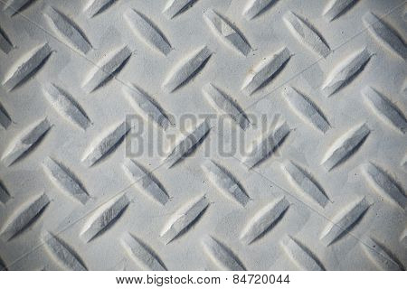 Weathered diamond plate background