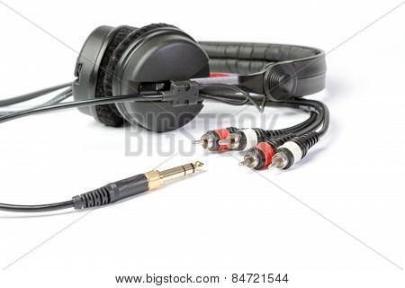 Headphones And Jack Plugs