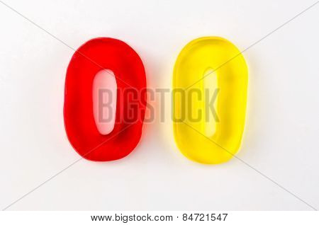 Gummy Letters O