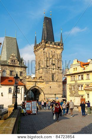 Prague. Charles Bridge.