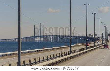 spectacular oresund bridge