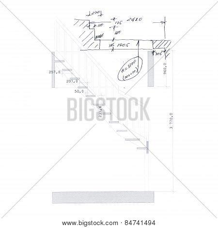 Stair draft