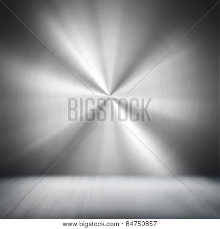 metal interior background