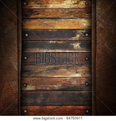 grunge wood plank background