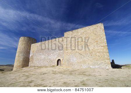 Torija Castle in Guadalajara, Castilla Leon, Spain.