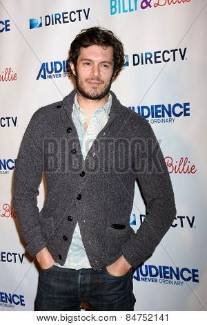 LOS ANGELES - FEB 25:  Adam Brody at the