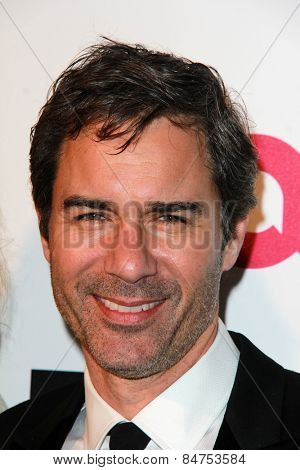 LOS ANGELES - FEB 22:  Eric McCormack at the Elton John Oscar Party 2015 at the City Of West Hollywood Park on February 22, 2015 in West Hollywood, CA