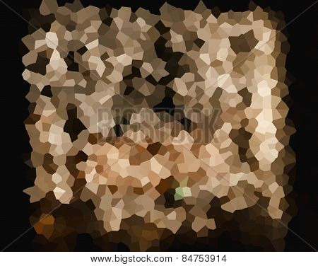 Abstract Background In Beige And Brown Tones