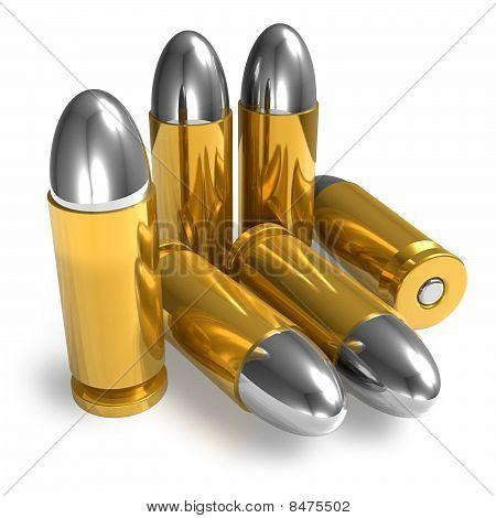 Pistol bullets
