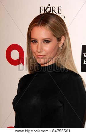 LOS ANGELES - FEB 22: ashley tisdale at the Elton John Oscar Party 2015 at the City Of West Hollywood Park on February 22, 2015 in West Hollywood, CA