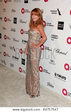 LOS ANGELES - FEB 22:  Jane Seymour at the Elton John Oscar Party 2015 at the City Of West Hollywood Park on February 22, 2015 in West Hollywood, CA