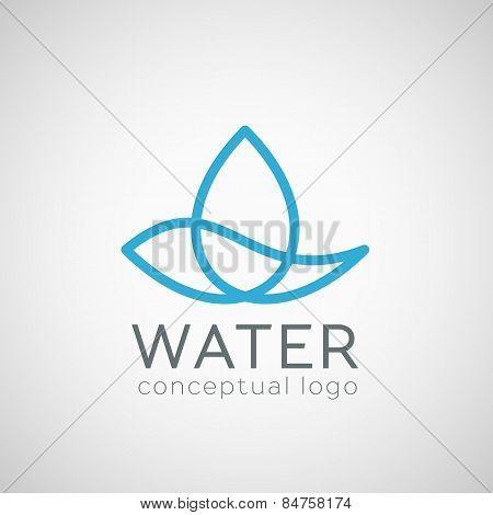 Vector Water Drop Icon